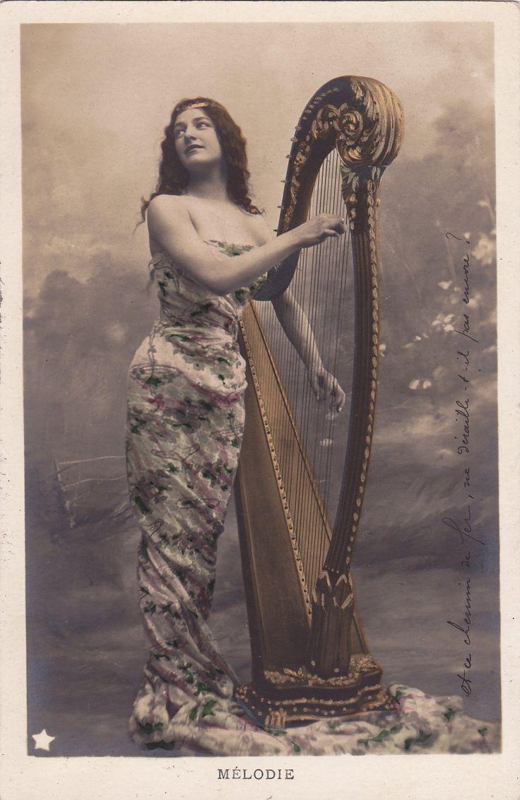 wisdom 2 lady with harp